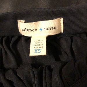 silence + noise Skirts - Charcoal flowy skirt